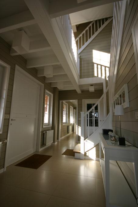 Maison ossature bois waterloo conception et suivi de - Interieur maison ossature bois ...